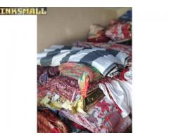 Bedsheets and ready mate clothing
