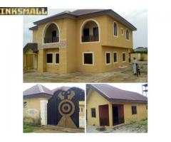 4 bedroom duplex and a Room and Parlour Self Contain