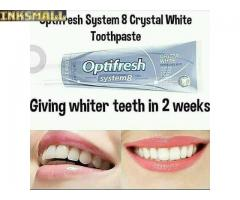 Optifresh system 8 Crystal white Toothpaste